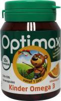 Optimax Kinder omega 3 sinaasappel