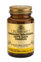 Solgar Echinacea/Golden Seal/Cat's Claw vegetable capsules
