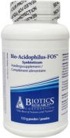 Biotics Bio acidophilus fos