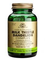 Solgar Milk Thistle/Dandelion Complex vegetable capsules