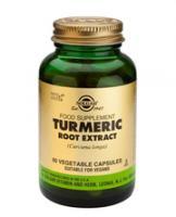 Solgar Turmeric Root Extract (Geelwortel, Curcuma, Gestandaardiseerd)