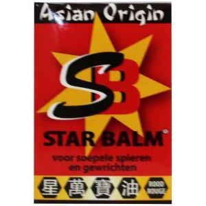 Star Balm Rood  warm