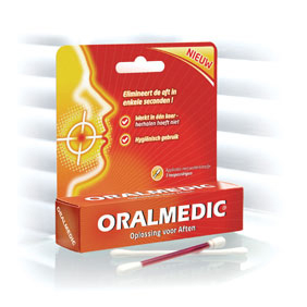 Oral Medic Oralmedic. De revolutionaire aanpak van aften!