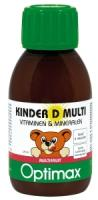 Optimax Kinder Multi vitamine D Vloeibaar