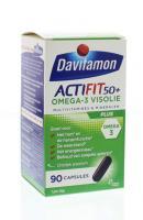 Davitamon Actifit 50+ Omega 3 visolie