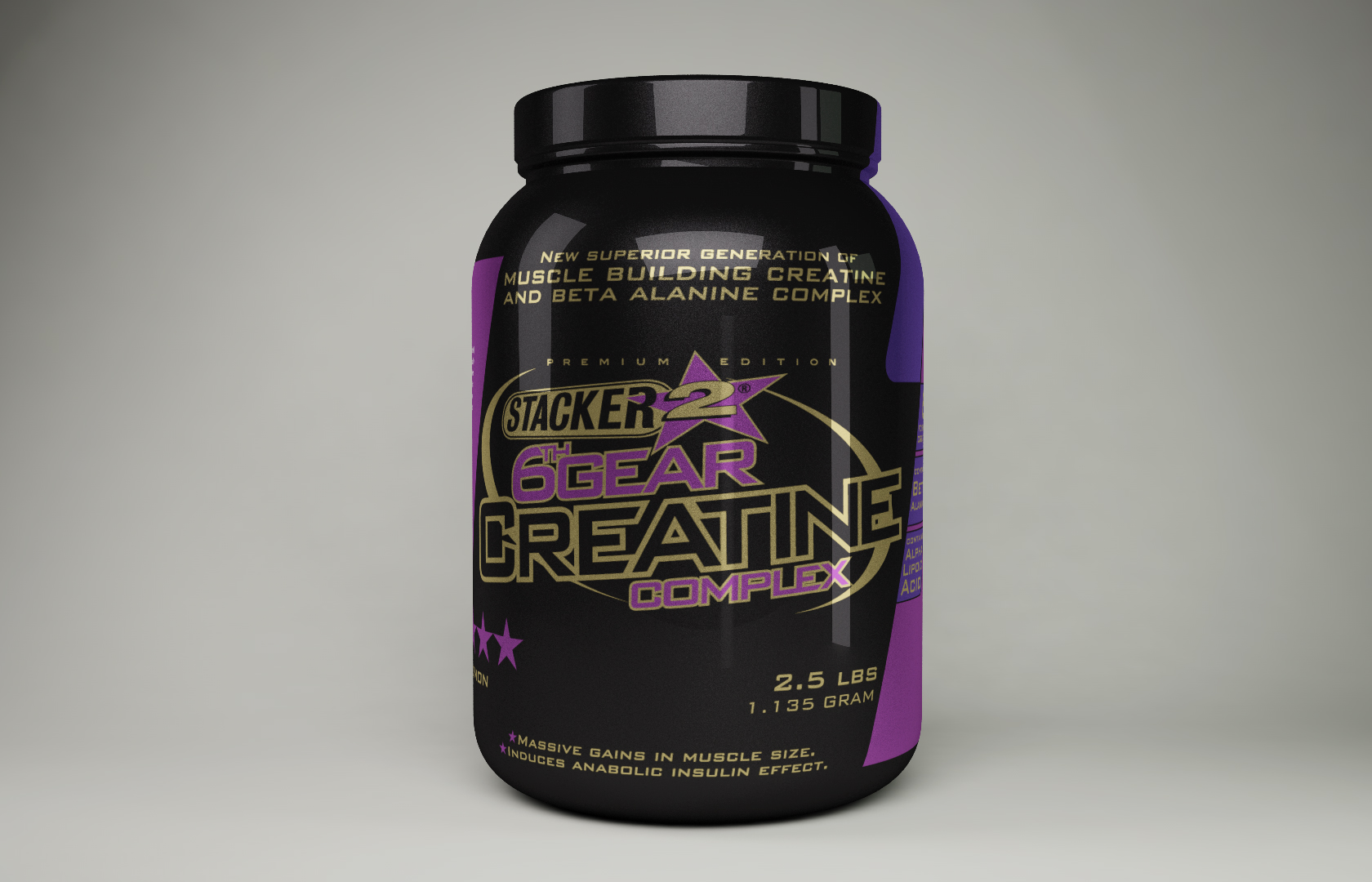 Stacker 6th Gear Creatine