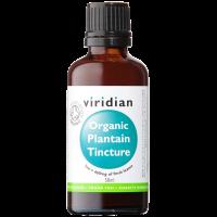 Viridian Organic Plantain Tinctuur  (weegbree)
