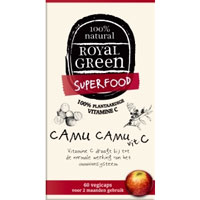 Royal Green Camu Camu 100% plantaardige Vitamine C.