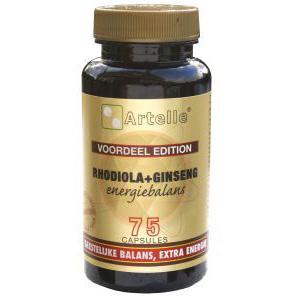 Artelle Rhodiola Ginseng Energie