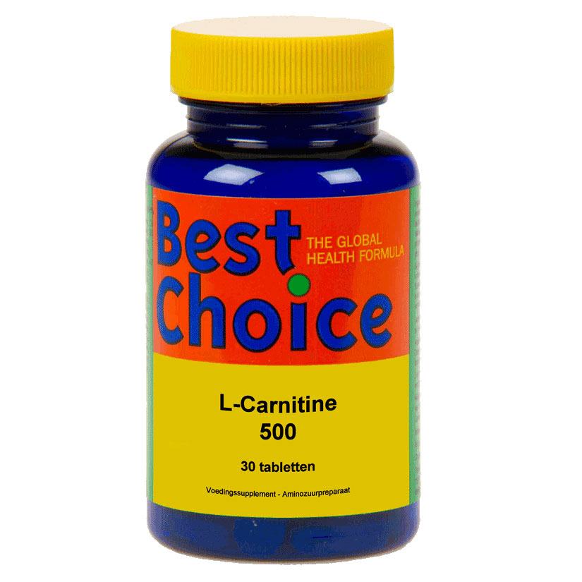 Best Choice Acetyl l carnitine 500 mg.