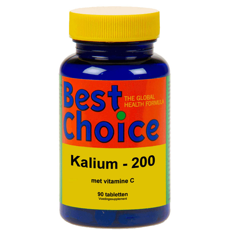 Best Choice Kalium 200 met vitamine C
