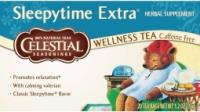 Celestial Seasonings Sleepytime extra welness tea