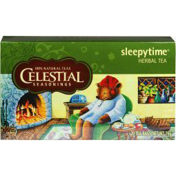 Celestial Seasonings Sleepytime herb tea