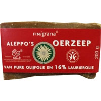 Aleppo Zeep olijf+16%laurier