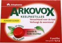 Arkovox Acerola Rode Vrucht Pastilles