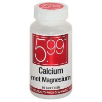 5,99 Calcium met magnesium