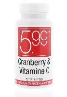 5,99 Cranberry met Vitamine C