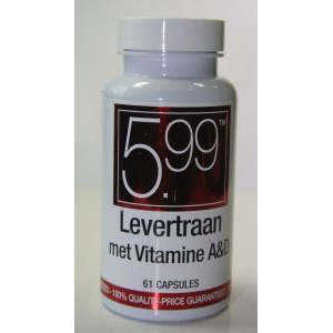 5,99 Levertraan vit a&d