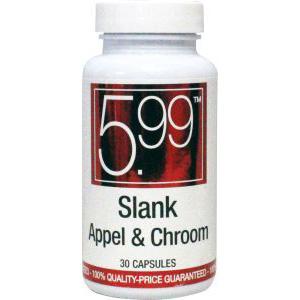 5,99 Slank appel met chroom
