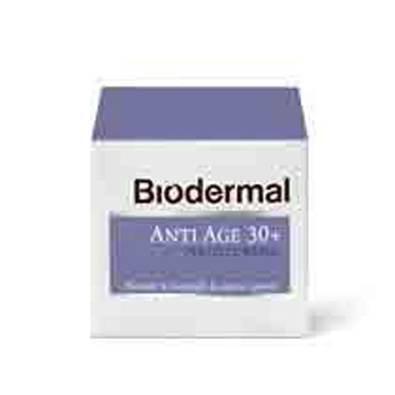 Biodermal Nachtcreme anti age 30+