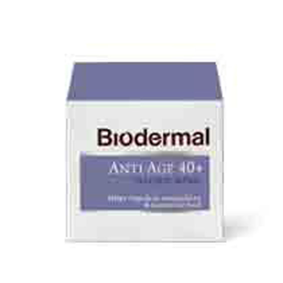 Biodermal Nachtcreme anti age 40+