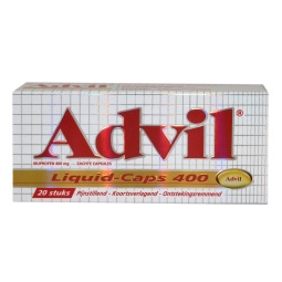 Advil Advil liquid caps 400
