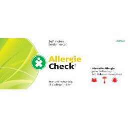 Test jezelf Allergie check 3 in 1 inhalatie
