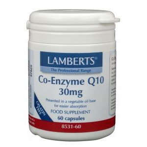 Lamberts Co Enzym Q10  30 mg.