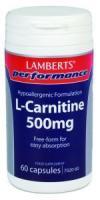 Lamberts L-Carnitine 500 mg.