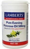 Lamberts Teunisbloem (primrose) 500 mg.