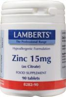 Lamberts Zink (zinc) citraat 15 mg