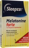 Sleepzz Melatonine  Forte1,5 mg.