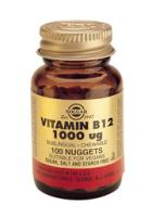 Solgar Vitamin B-12 (cyanocobalamine) 1000 ug