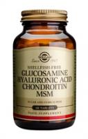 Solgar Glucosamine Hyaluronic Acid Chondroitin MSM complex