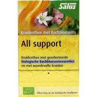 Salus Kruidenthee met Bachbloesems, all support