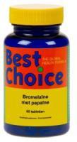 Best Choice Bromelaïne uit ananas en Papaïne uit papaja