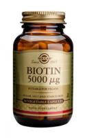 Solgar Biotin 5000 Ug