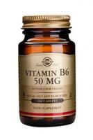 Solgar Vitamin B-6 (pyridoxine) 50 mg