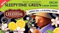 Celestial Seasonings Decaf sleepytime green tea lemon