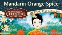 Celestial Seasonings Mandarin orange spice herb tea