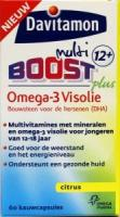 Davitamon Boost 12+ omega 3 visolie