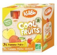 Kalibio Cool fruit appel peer/appel perzik abrikoos