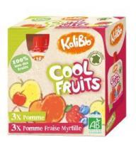 Kalibio Cool fruit appel/aardbei/bosbes