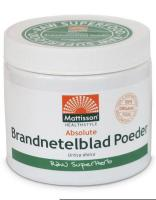 Mattisson Healthcare Absolute brandnetelblad poeder raw bio