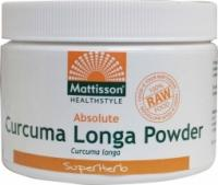 Mattisson Healthcare Absolute curcuma longa poeder bio